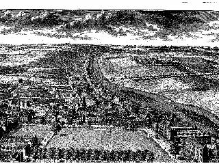 Prospect of Richmond Surrey in 1726
