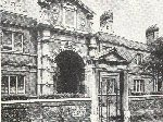 Bishop Duppa's almshouses in 1953
